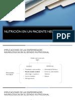 Nutrición en paciente neurológico