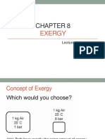 Chapter 8 EXERGY