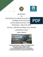 ECE Sem 3 Syllabus Jul to Dec 2019 (Batch 2018-22)