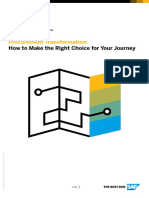Procurement Transformation How to Make the Right Choice for Your Journey