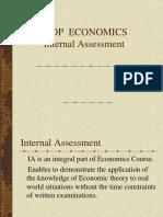 IB Economics 1 Assess.