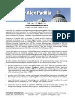 California Senate SB1462 California Broadband Council Fact Sheet Rev. 10-28-10