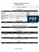 Carmine Marceno Fdle Global Profile Sheet