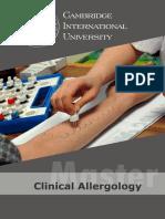 Master Clinical Allergology