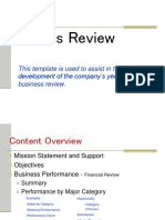 Business Review Power Point Template-revised