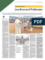 La Voz de La Selva en El Vaticano