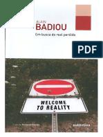 Em busca do real perdido - Alain Badiou