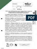 Ordenanza 68 2 Ene 2017 Se Establece El Marco General Par 2