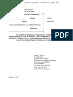 Memorandum of Law SEC vs TON 11 Oct 2019