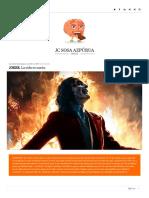 Joker- La Vida Es Sueño - Juan Carlos Sosa Azpúrua