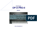 OP-X PRO-II manual