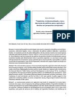 Apresentacao Eric Sabourin - Desmonte Politicas AF Na America Latina (Texto Base) - Seminario Politicas Publicas Meio Rural Brasileiro 2018