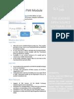ScilabXcos FMI Module Datasheet 2017