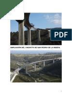 AMPLIACIÓN DEL VIADUCTO DE SAN PEDRO DE LA RIBERA