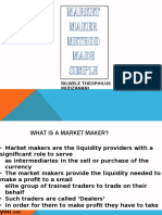 Market Makers Made Simple