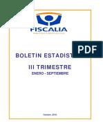 Boleiin Institucional Enero Septiembre 2018