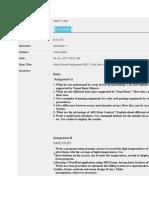 Assignment Bca Visual Basic