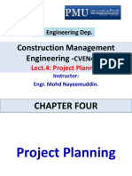 4- Chapter #4_Project Planning