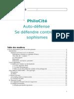 PhiloCite Se Defendre Contre Les Sophismes 1