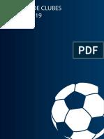 Informe de AFA sobre clubes