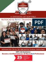 Autocad 3D Max Revit Brochure Softpro