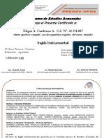 Certificado del Curso Inglés Instrumental_final.ppt
