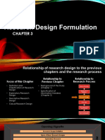 Research Design Formulation Powerpoint