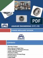 Coporate Profile - Powder Metal Division