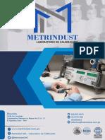 Brochure Metrindust Sac - Laboratorio de Calibración 2019