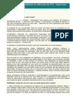 Desenvolvendo a Habilidade de Calibração Da PNL