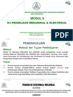 02. Modul 9. K3 Mekanikal & Elektrikal