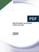 Modeler Social Network Analysis