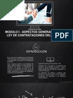MODULO I - ASPECTOS GENERALES DE LA LEY DE CONTRATACIONES DEL ESTADO.pptx