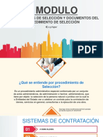 MODULO III - PROCEDIMIENTOS DE SELECCIÓN Y DOCUMENTOS DEL PROCEDIMIENTO DE SELECCIÓN.pptx