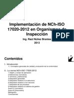 Curso Implementación de ISO 17020-2012