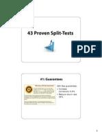 43 Tests Handouts