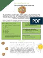 solar panel pizza oven task