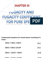 Chapter 3 Fugacity and Fugacity Coefficient for Pure Species