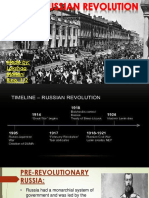 Russian Revolution Fybmm