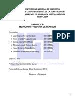 METODOS ESTADISTICOS PARA HIDROLOGIA