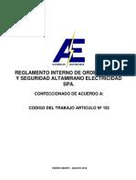 Riosh Altamirano Electricidad 2018