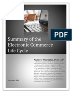 Summary of the Electronic Commerce Life Cycle 111810