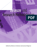 Preview of Deleuze and Research Methodologies