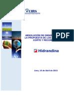 Absolución de Observaciones a La Propuesta SICORE Hidrandina