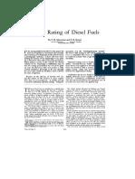 P. H. Schweitzer-Cetane Rating of Diesel Fuels