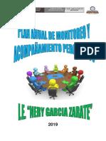 Plan Monitoreo y Acompañamineto Pedagogico Nega Za 2019 Ultimo