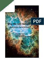 Why we left religion