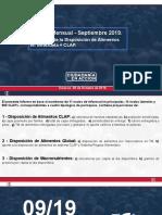 INFORME CIUDADANÍA EN ACCIÓN - Sept. 2019