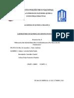 p.8 Obtención Del Alcohol Bencílico Y Ácido Benzoico Por Reacción De Cannizzaro