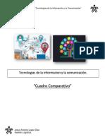 Cuadro Comparativo Tecnologias de La Informacion y Comunicacion